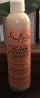 Shea moisture coconut& hibiscus co-wash conditioning cleanser