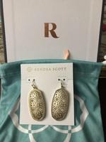 Kendra Scott Filagree earrings
