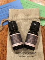 Juniper Berry and Sweet Basil essential oils