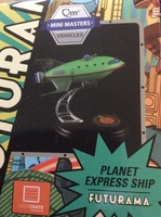 Futurama Planet Express Ship Mini Masters