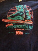 Back to the Future Hoverboard Shirt