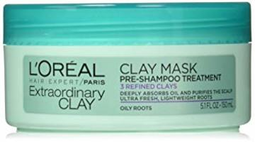 Loreal extraordinary clay mask pre-shampoo treatment