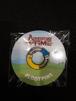 Adventure Time Loot Crate Pin