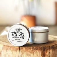 Mr. B's Necessities Citrus & Fir Travel Tin Candle
