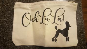 Ooh La La Cosmetic Bag by Quotable Life