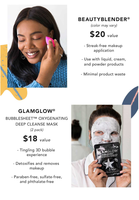 GlamGlow Bubblesheet Oxygenating Mask