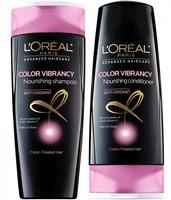 L'oreal Color Vibrancy Nourishing Shampoo and Conditioner