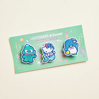 Sanrio Embroidered Patch Pin Set