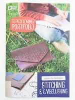 Faux Leather Portfolio (kit to make)