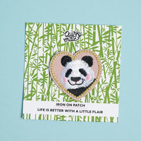 Quirky Crate Panda Patch