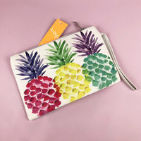 Stand Tall Pineapple Wristlet