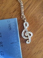 Lolita necklace Treble Cleft