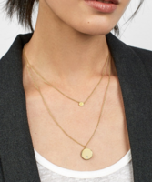 Alpha Layered Necklace