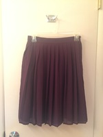 Modcloth A-line Skirt in Purple