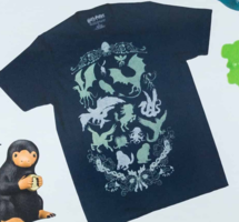 Creature Silhouette T-shirt