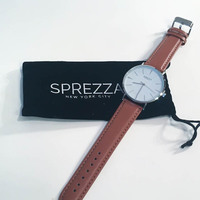 SPEZZA Watch new in pouch