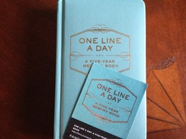 One Line A Day A Five-Year Memory Book