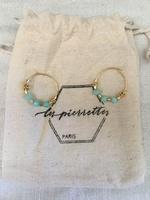 Les Pierrettes earrings