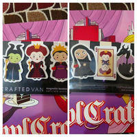 Villainous Queens Magnetic Bookmark