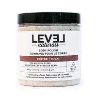 Level Naturals Body Polish in Coffee + Sugar