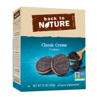 Back to Nature Classic Creme Cookies - 12 oz box