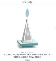 Tea Forte Lusso Platinum Tea Infuser