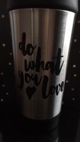Do What You Love Travel Cup