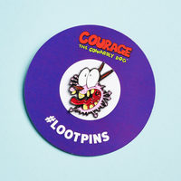 Courage the Cowardly Dog Loot Pin