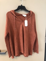 Loveriche Hoodie, Rust color