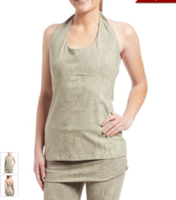 Asana Top in White Sage - Medium