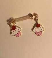 Earfleek Earrings - ice cream sundae