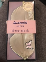 Lavender Satin Sleep Mask