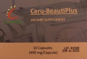 Ceru-Beautiplus Dietary Supplement with Retinol and Collagen