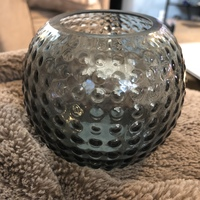 Eightmood gray Flora candle holder