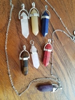 Yogi Surprize Necklace with 7 Chakra Balancing Crystal Pendants