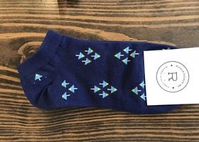 Richer Poorer Low Show Sock