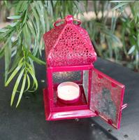 Hanging Lantern & Tea Light candle Set