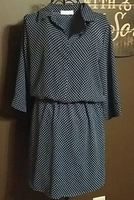 STITCH FIX Alexus Polka Dot Dress Large