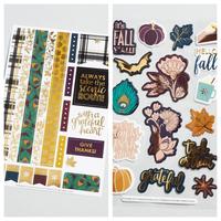 Fall 2018 Sticker Sheet Duo