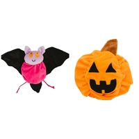 Hatchables Bat-O-Lantern Interactive Plush Dog Toy