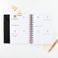 Cloth & Paper 2019 Spiral Planner