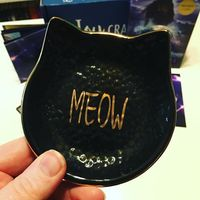 Cat Jewelry Dish
