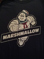 Marshmallow Ghostbusters T-Shirt
