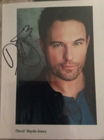 Autographed 8x10 - David Haydn-Jones (Supernatural)