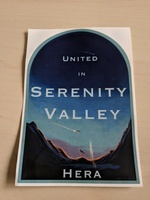 Serenity Valley Sticker