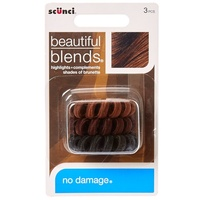 SCUNCI Beautiful Blends® Brunette Coiled Hair Ties