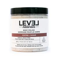 Level Naturals Coffee + Sugar Body Polish