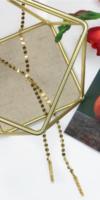 Scarlett Disk Necklace