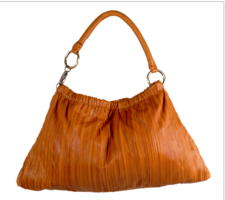 Sao Paulo Sac Pleated- Tan Leather