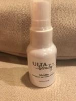 Ulta Beauty matte makeup setting spray